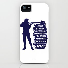 Percy - Critical Role iPhone Case