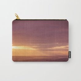 Olympic Mountains at Sunset Carry-All Pouch