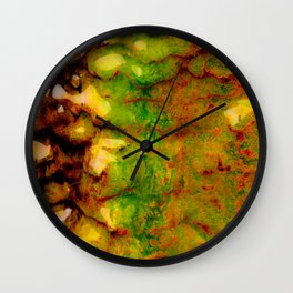 Thermal ecosystem Wall Clock