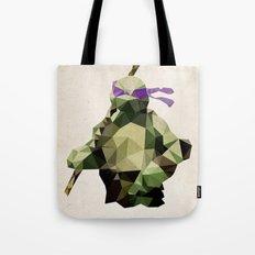 Polygon Heroes - Donatello Tote Bag