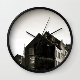 Vintage Poetic City Wall Clock