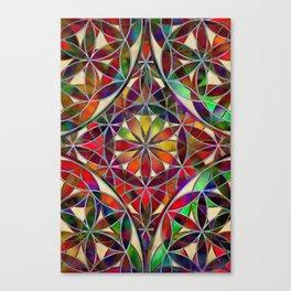 Flower of Life variation Canvas Print