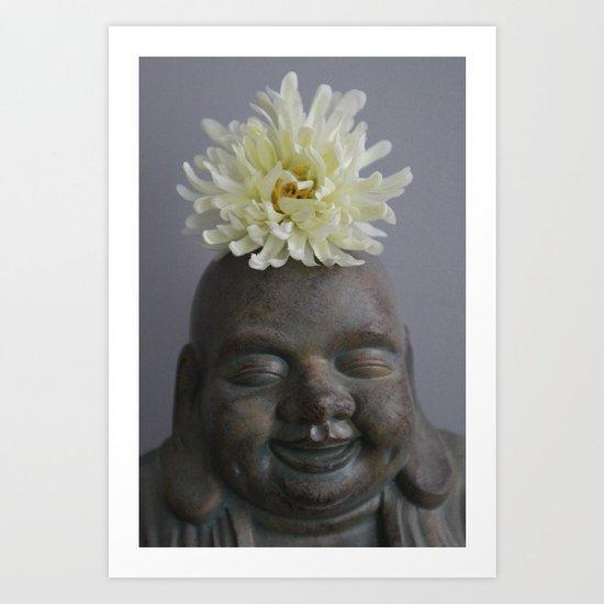 Joy Of Buddha Art Print