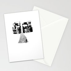 Dead Sound City (Black on White) Stationery Cards