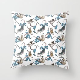 Forget Us Not Throw Pillow