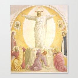 """Fra Angelico (Guido di Pietro) """"The Transfiguration"""" Canvas Print"""