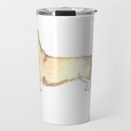 Quirky Corgi Travel Mug