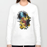 cowboy bebop Long Sleeve T-shirts featuring Cowboy Bebop Swordfish II by Carrie South