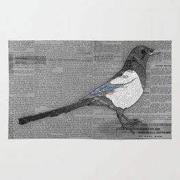 Bad News Bird Rug