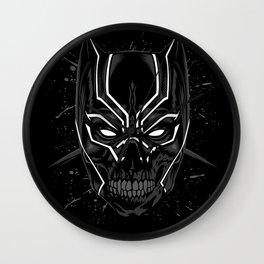 Skull Panther Wall Clock