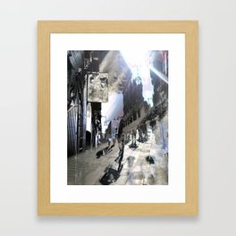 Gulp tint hardinesses. Framed Art Print