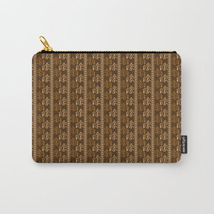 chimu monkey pattern Carry-All Pouch