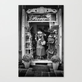 The Florist Shop Canvas Print