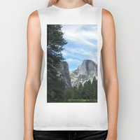 yosemite Biker Tanks featuring Yosemite by Angela McCall