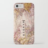 not all who wander are lost iPhone & iPod Cases featuring wander by Sylvia Cook Photography