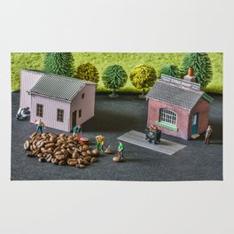 The Little Millers Coffee Corporation Rug
