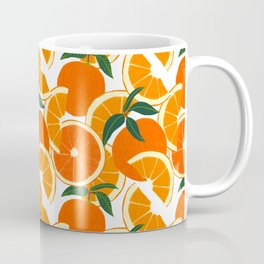 Orange Harvest - White Coffee Mug