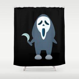 grimace of terror Shower Curtain
