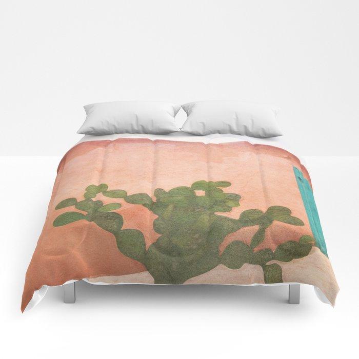Strong Desert Cactus Comforters