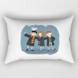 Friendship and magic Rectangular Pillow