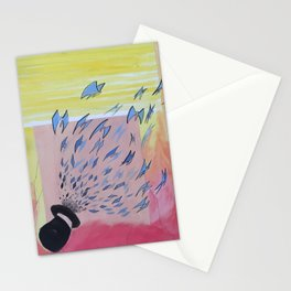 Butterfly Rush Stationery Cards