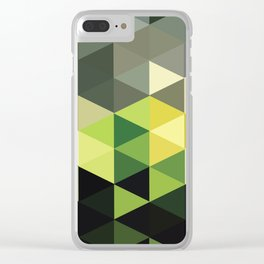 Another Touch Of Green Clear iPhone Case