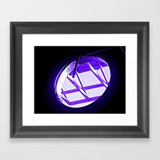 have you ever seen a portal? Framed Art Print