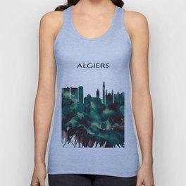 Algiers Skyline Unisex Tank Top