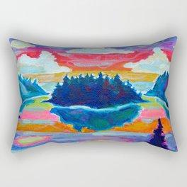 Summer Nights Rectangular Pillow