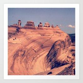 Arch Bowl: Moab, Utah Art Print