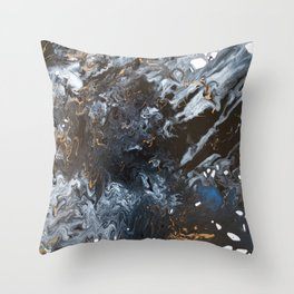 Freedom from Oil Part 1 Throw Pillow