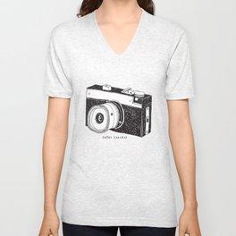 Retro Cameras Unisex V-Neck