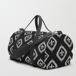 Framed Fleur De Lis Duffle Bag
