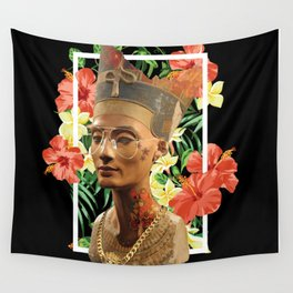 Queen Nefertiti 2 Wall Tapestry