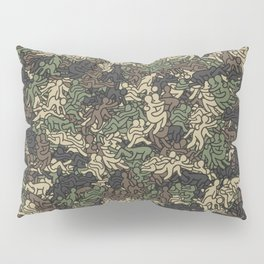 Sex positionns camouflage Pillow Sham