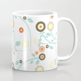 Tapestry pattern flower Coffee Mug