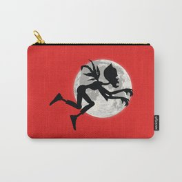 Friendly Zombie On The Go - Fly Carry-All Pouch
