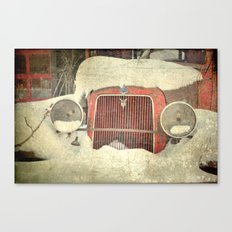 Ford in Winter Canvas Print