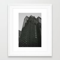 buildings Framed Art Prints featuring Buildings by Laura Gomez