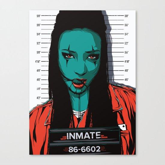 Inmate #86 Canvas Print