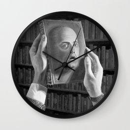 Don't Read Me Wall Clock