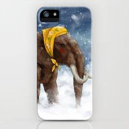 Babushka Mammoth iPhone Case
