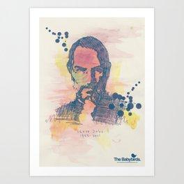 RIP Steve Jobs (1955-2011) Art Print