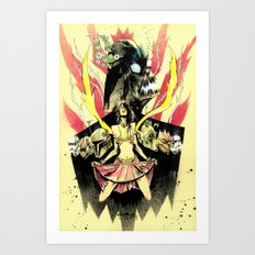 REVENGE ON TATTOINE Art Print