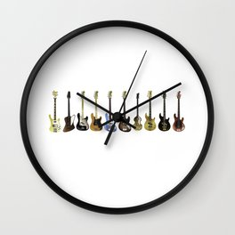 Bass Collection Wall Clock