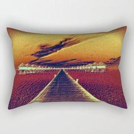 Fierce Sunset Rectangular Pillow