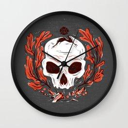 Symbol Skull Wall Clock