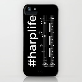#harplife (dark colors) iPhone Case