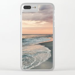 Long Island Summer Clear iPhone Case