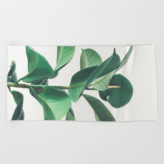 Rubber Fig Beach Towel